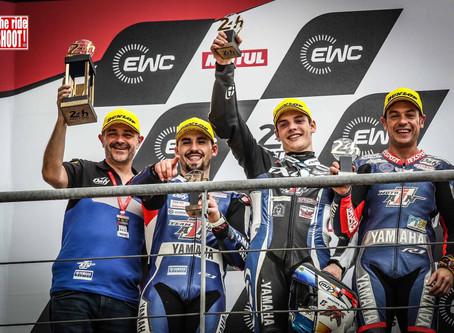 Sur le podium des 24h du Mans 2019 !