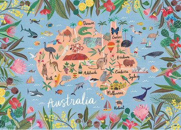 Australia Map Jigsaw