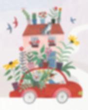 Moving House Illustration