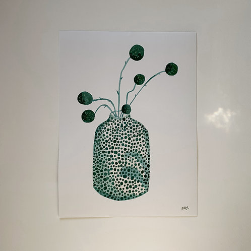 Billy Button Vase