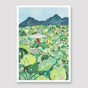 Lillie field illustration