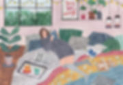 Cosy Apartment illustration