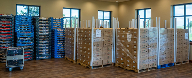 1152 Food Boxes & 1500 Bread Loaves