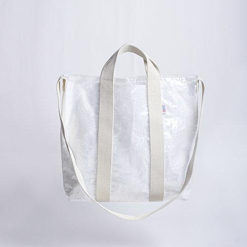 RECORD BAG WHITE