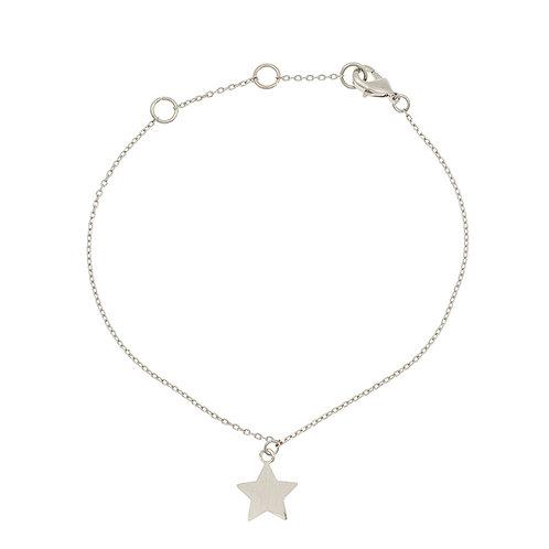 New star bracelet 01-Silver Finishing