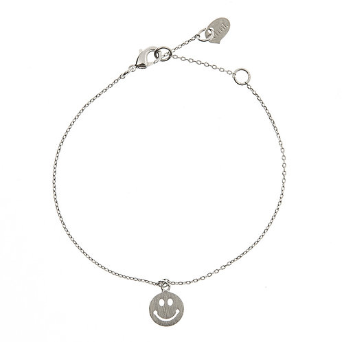 Smile Bracelet 01-Silver Finishing