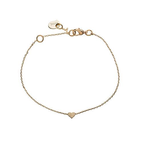 Small sliding bracelet 02-Gold plated