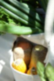 野菜を立てて保存する