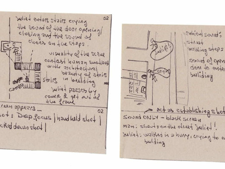 week_2: storyboard for short film + animation project