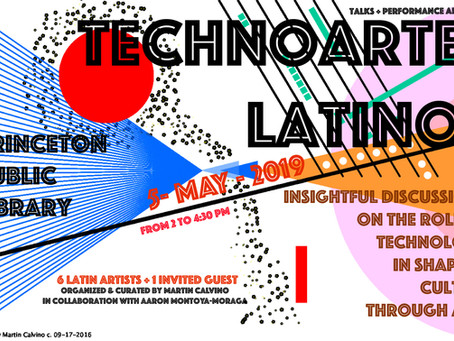 'TechnoArte Latino' at Princeton Public Library: insightful discussions on the role of techn