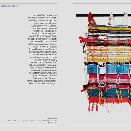Textile Artwork @ The Newark Museum of Art: 'Revision & Respond' Exhibition