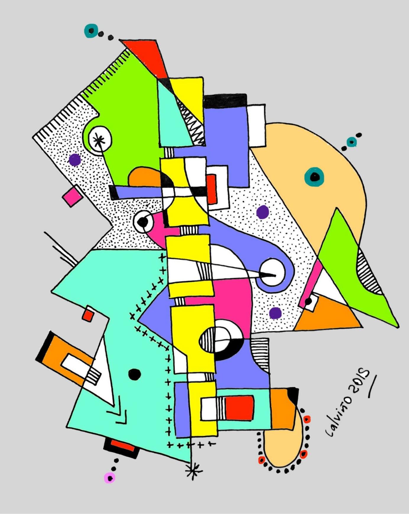 Martin Calvino Abstract Design