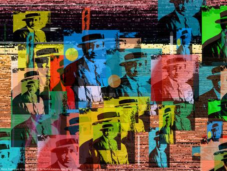 Artistic tribute to the Centennial Anniversary of 'La Cumparsita' tango song
