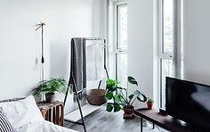 Stylist helles Wohnzimmer