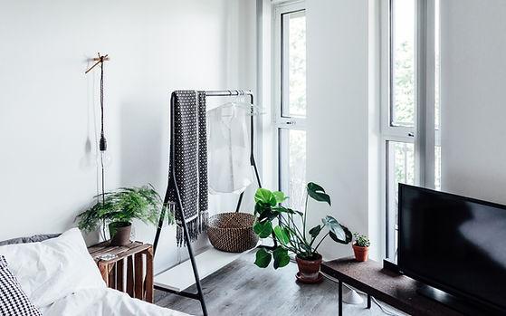 Stylist sala bem iluminada