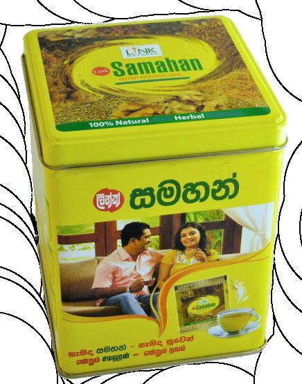Samahan 120 Tassen in der Dose