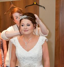 wedding hair and makeuup Edinburgh
