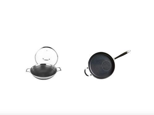 The Latest 4th-Generation 28cm Frying Pan+36cm Wok