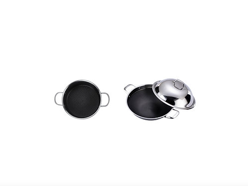The Latest 4th-Generation 28cm Frying Pan+36cm Wok