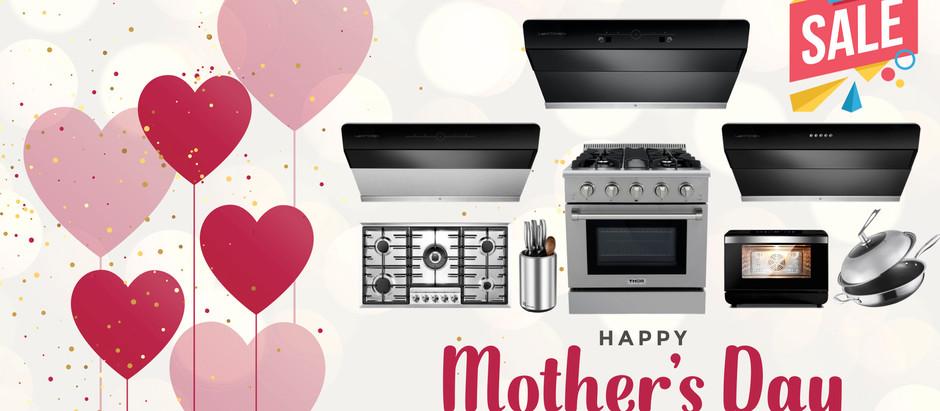 乐厨电器母亲节优惠活动油烟机直降$350
