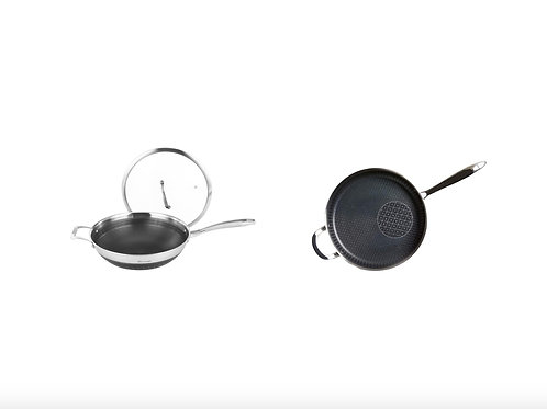 The Latest 4th-Generation 28cm Frying Pan+32cm Wok
