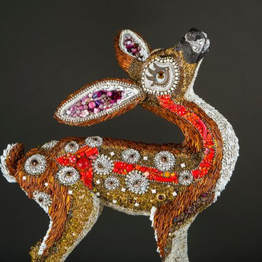 BEADED SCULPTURE