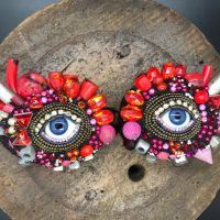 NEW Wall Eye Pair by Betsy Youngquist