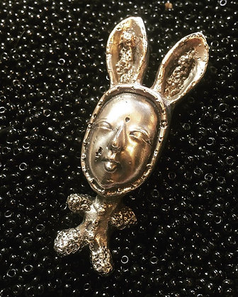 Bunny in PJs Necklace
