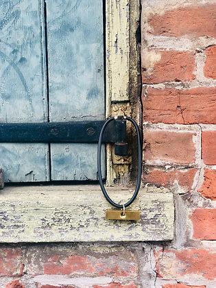 Bronze Brick Pendant Choker