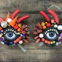 Wall Eye Pair by Betsy Youngquist