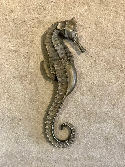 Bronze Cast Male Seahorse