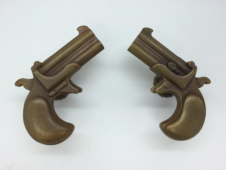 Double Guns: Bronze Cast