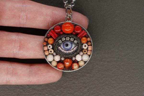 Circular Eye Pendant