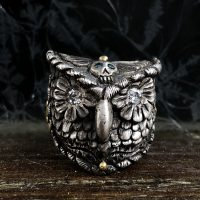 Owl Spirit Ring by Melinda Risk