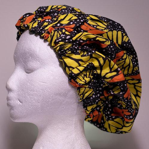 Butterfly Print Bonnet