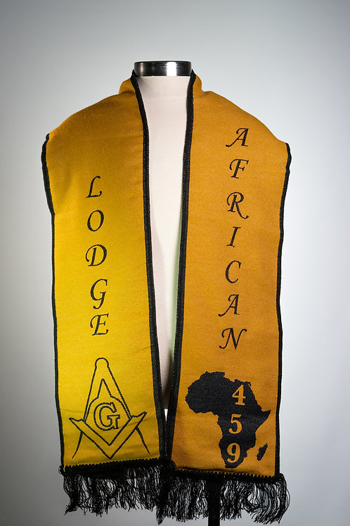 African Lodge 459  Scarf
