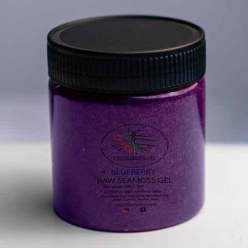 Blueberry  Seamoss Gel 8 oz.