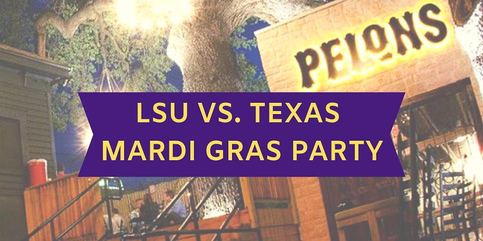 Pelon's Tex Mex meets Mardi Gras Party