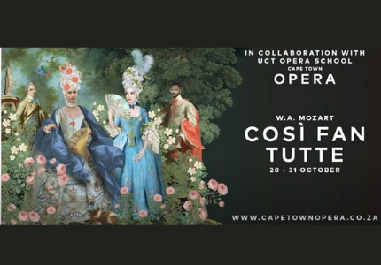 COSÌ FAN TUTTE presented by Cape Town Opera and UCT Opera School