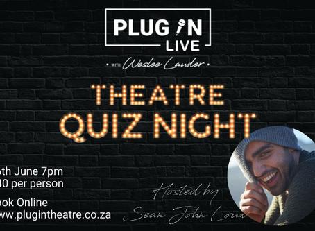 PlugInLIVE - Theatre Quiz Night
