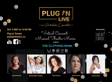 PlugInLIVE: Musical Theatre Moms In Aid Of THE CLOTHING BANK's Mothers Day Campaign