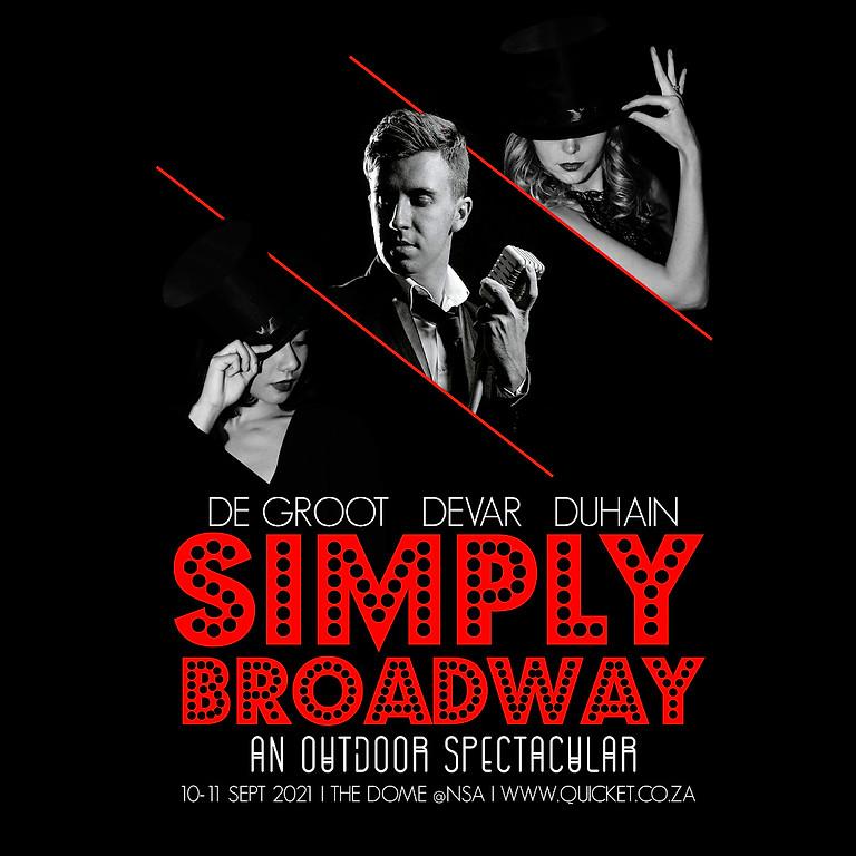 Plug In Theatre Club - Simply Broadway (Fri 10 Sep 7pm)