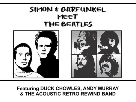 Simon & Garfunkel Meet The Beatles at THE DRAMA FACTORY