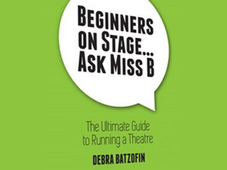 Beginners On Stage … Ask Miss B