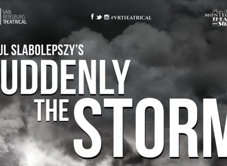 PAUL SLABOLEPSZY's Award-Winning Play SUDDENLY THE STORM heads to Montecasino in March!