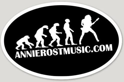 Annie Rost Music - Stickers