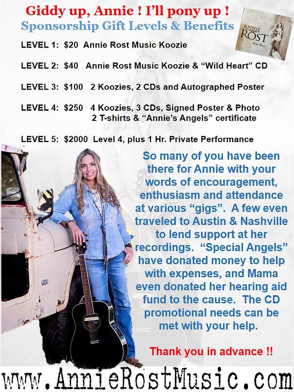 Individual Sponsorship Information