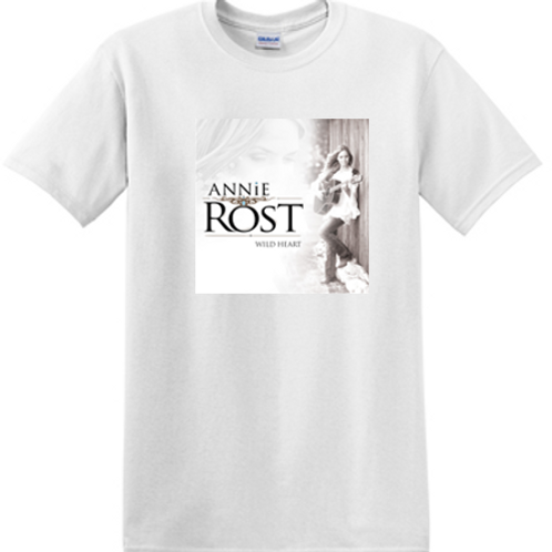 Annie Rost Music T-Shirt - White