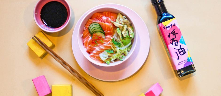 Salmon-Avocado Poké Bowl