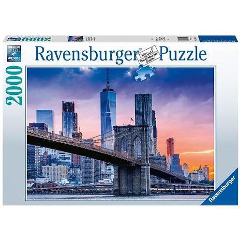 RAVENSBURGER PUZZLE 2000 PCS NEW YORK